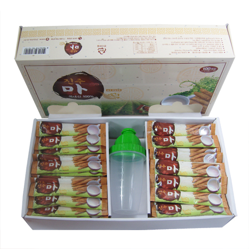 진주참마가루껍질벗긴 (무농약 마가루스틱 (10g*100포)×2박스