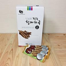 진주참마가루 (100%국내산 무농약 마가루) 스틱 (10g*50포)2박스